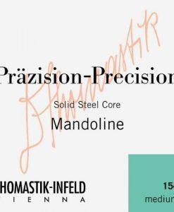 Thomastik 154 Tin-Plated Steel Flatwound Medium Mandolin Strings